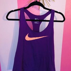 Purple & Peach Nike Tank Top!